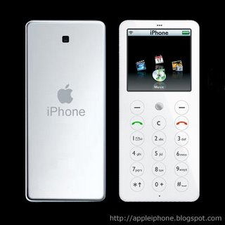 Prospective design of Apple iPhone (2)